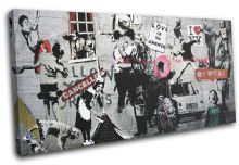 Montage Collage Banksy Street - 13-6068(00B)-SG21-LO